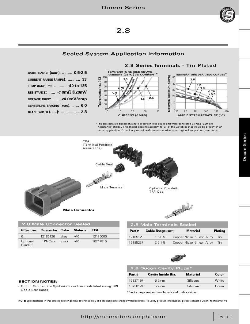12014254 ,Delphi Connection Systems厂商,Automotive Connectors HAND CRIMPER, 12014254 datasheet预览  第265页
