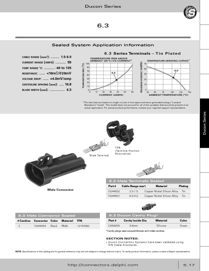 12014254 ,Delphi Connection Systems厂商,Automotive Connectors HAND CRIMPER, 12014254 datasheet预览  第271页