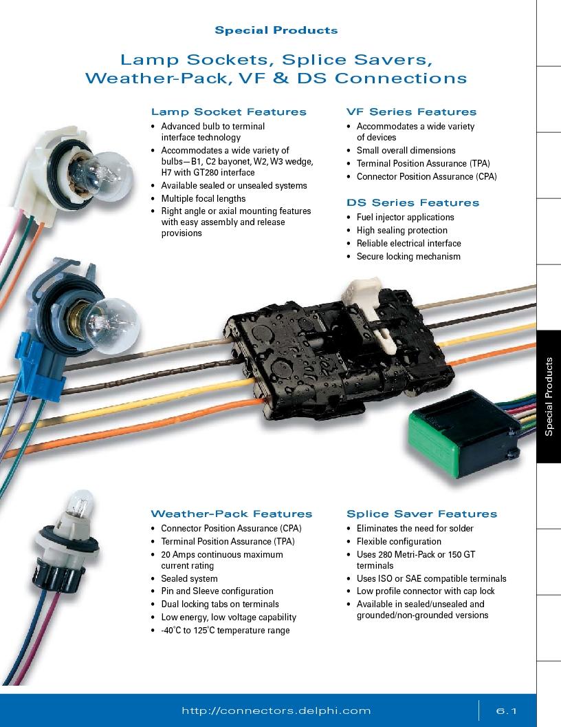12014254 ,Delphi Connection Systems厂商,Automotive Connectors HAND CRIMPER, 12014254 datasheet预览  第283页