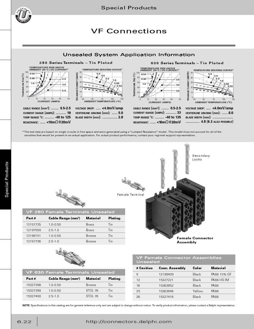 12014254 ,Delphi Connection Systems厂商,Automotive Connectors HAND CRIMPER, 12014254 datasheet预览  第304页