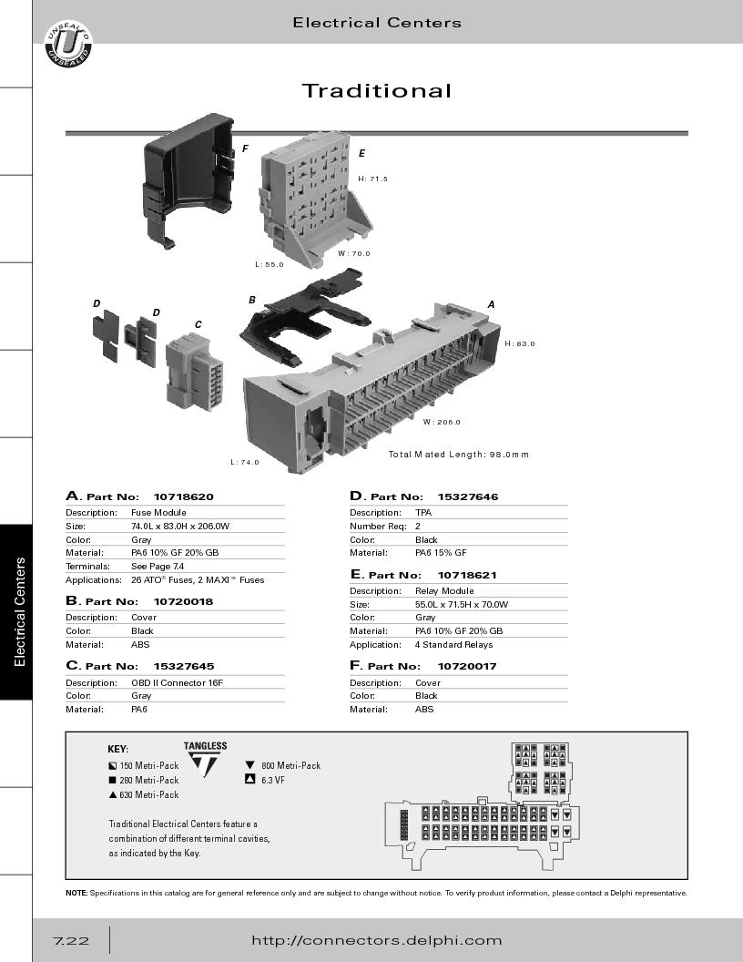 12014254 ,Delphi Connection Systems厂商,Automotive Connectors HAND CRIMPER, 12014254 datasheet预览  第332页
