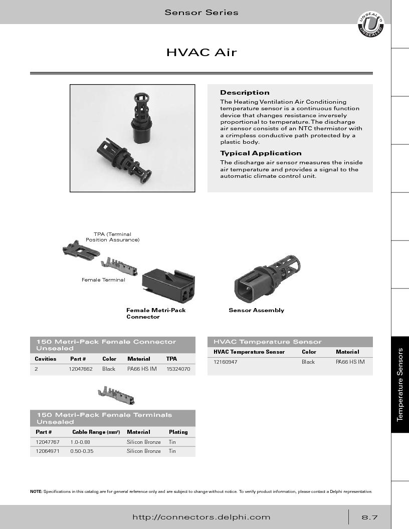 12014254 ,Delphi Connection Systems厂商,Automotive Connectors HAND CRIMPER, 12014254 datasheet预览  第349页
