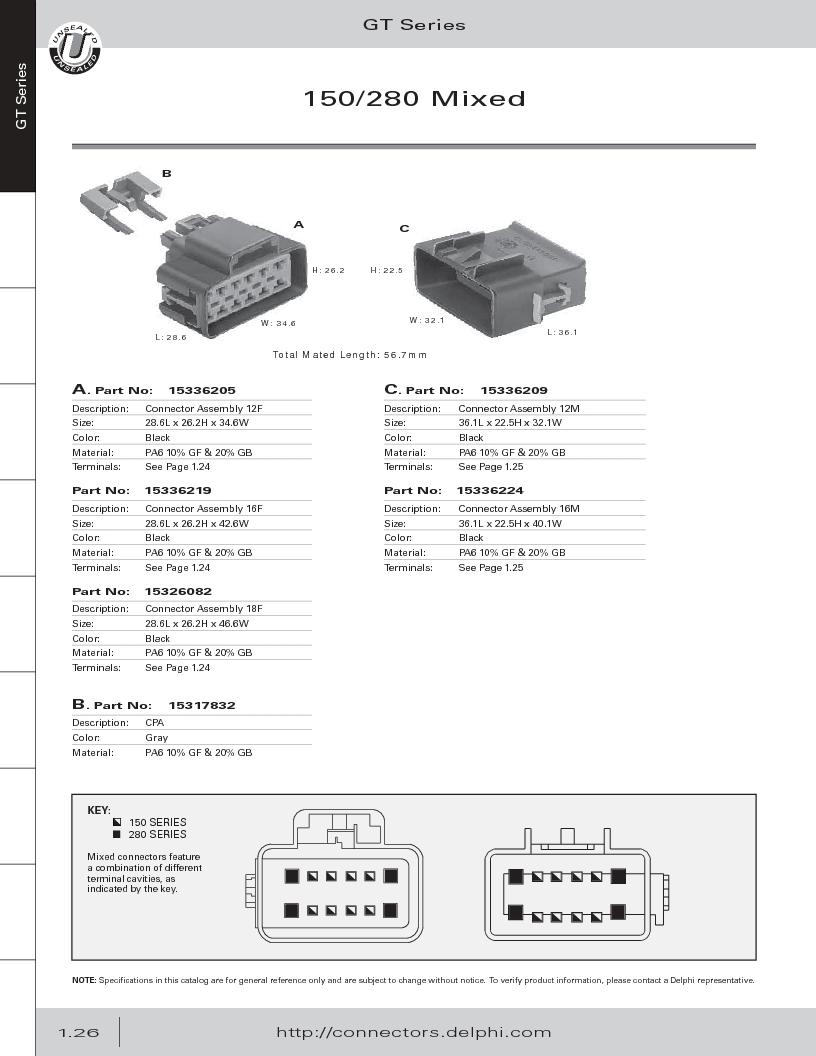 12014254 ,Delphi Connection Systems厂商,Automotive Connectors HAND CRIMPER, 12014254 datasheet预览  第38页