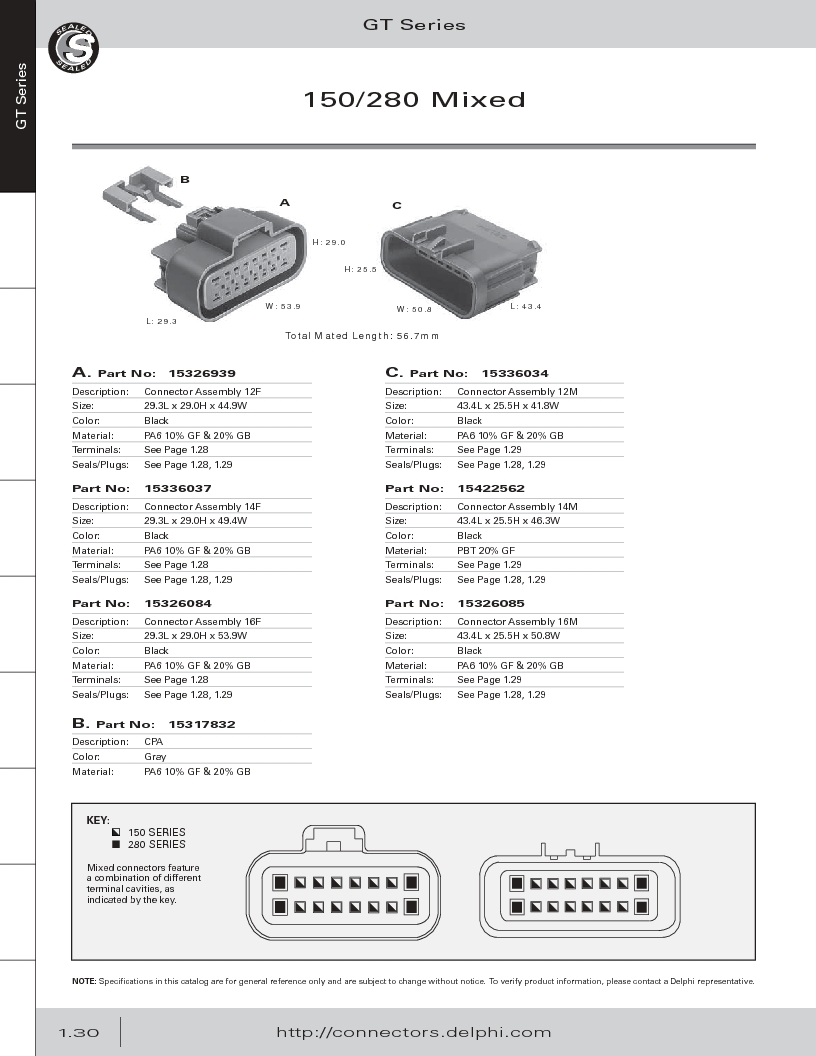 12014254 ,Delphi Connection Systems厂商,Automotive Connectors HAND CRIMPER, 12014254 datasheet预览  第42页