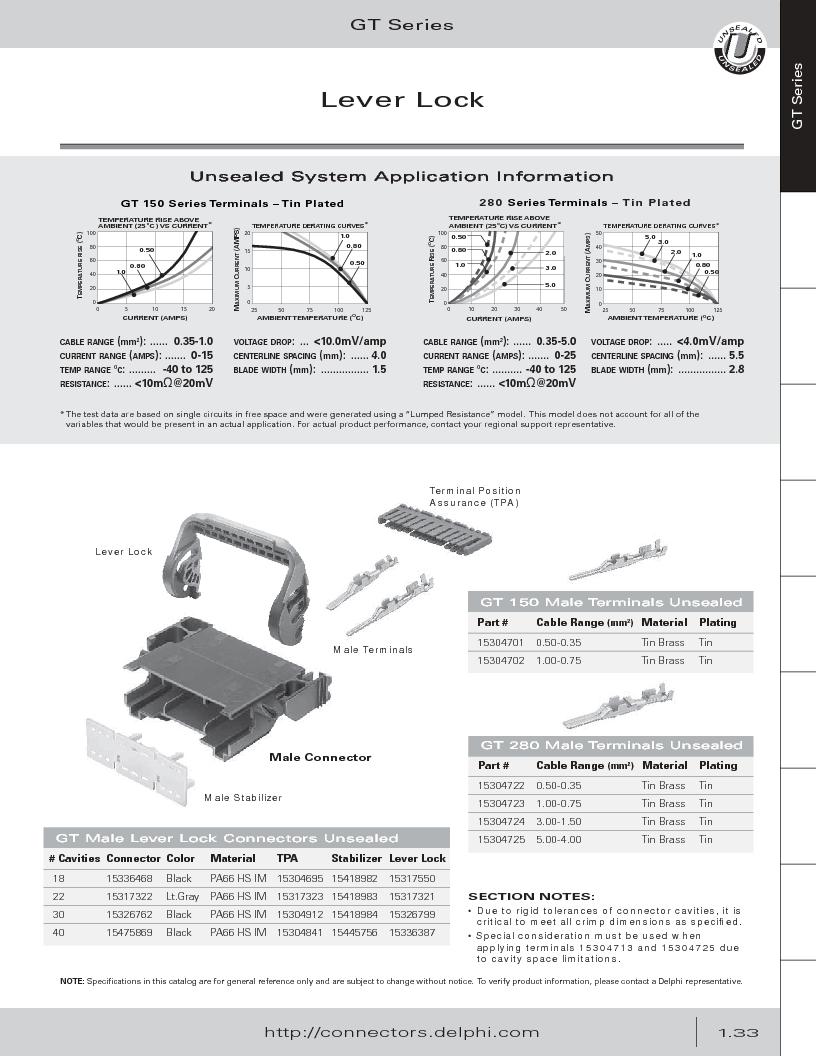 12014254 ,Delphi Connection Systems厂商,Automotive Connectors HAND CRIMPER, 12014254 datasheet预览  第45页