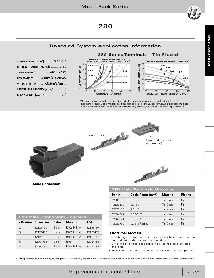 12014254 ,Delphi Connection Systems厂商,Automotive Connectors HAND CRIMPER, 12014254 datasheet预览  第81页