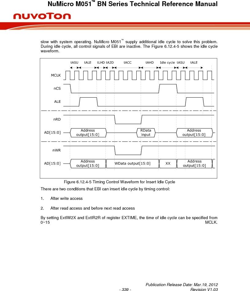 M0516LBN ,Nuvoton Technology Corporation of America厂商,IC MCU 32BIT 64KB FLASH 48LQFP, M0516LBN datasheet预览  第339页
