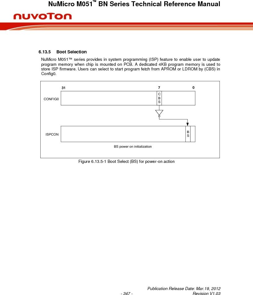 M0516LBN ,Nuvoton Technology Corporation of America厂商,IC MCU 32BIT 64KB FLASH 48LQFP, M0516LBN datasheet预览  第347页