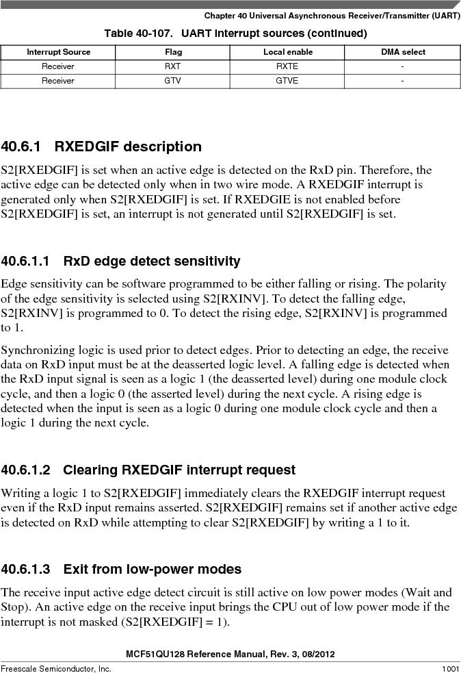 MCF51QU32VHS ,Freescale Semiconductor厂商,IC MCU 32BIT 32K FLASH 44LGA, MCF51QU32VHS datasheet预览  第1001页