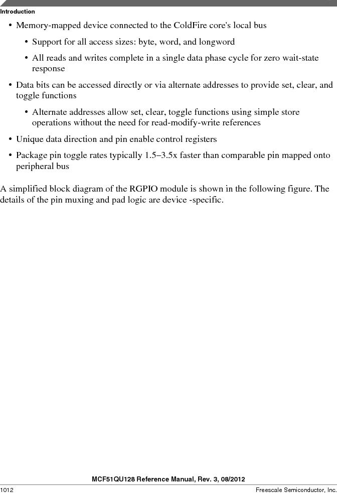 MCF51QU32VHS ,Freescale Semiconductor厂商,IC MCU 32BIT 32K FLASH 44LGA, MCF51QU32VHS datasheet预览  第1012页