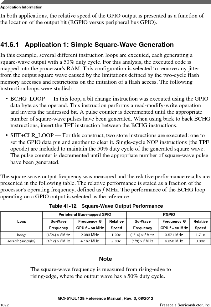 MCF51QU32VHS ,Freescale Semiconductor厂商,IC MCU 32BIT 32K FLASH 44LGA, MCF51QU32VHS datasheet预览  第1022页