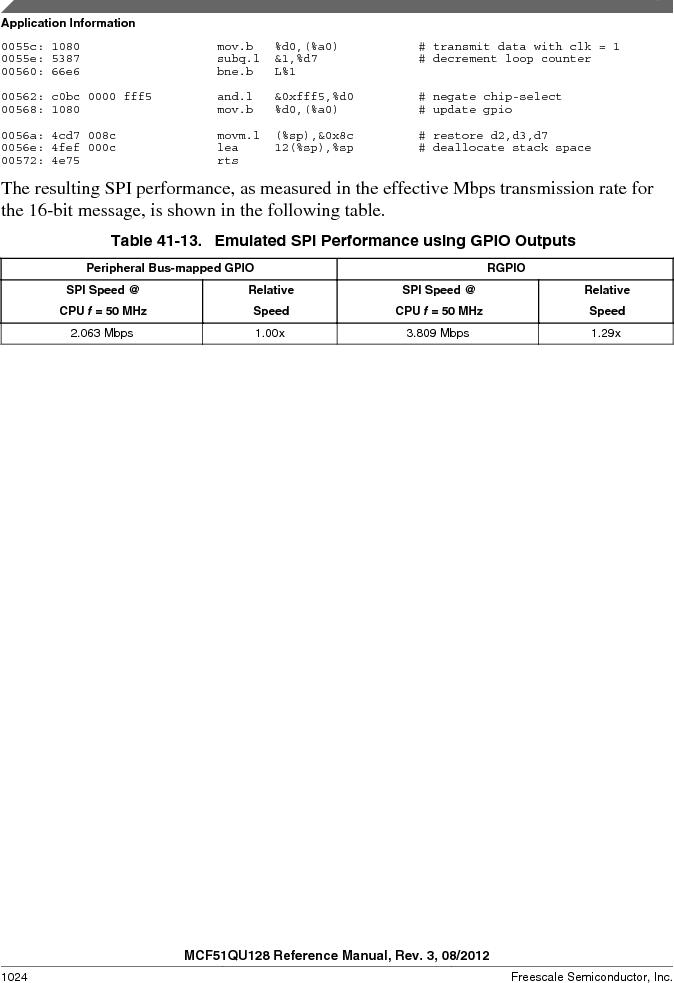 MCF51QU32VHS ,Freescale Semiconductor厂商,IC MCU 32BIT 32K FLASH 44LGA, MCF51QU32VHS datasheet预览  第1024页