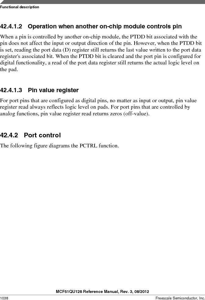 MCF51QU32VHS ,Freescale Semiconductor厂商,IC MCU 32BIT 32K FLASH 44LGA, MCF51QU32VHS datasheet预览  第1038页