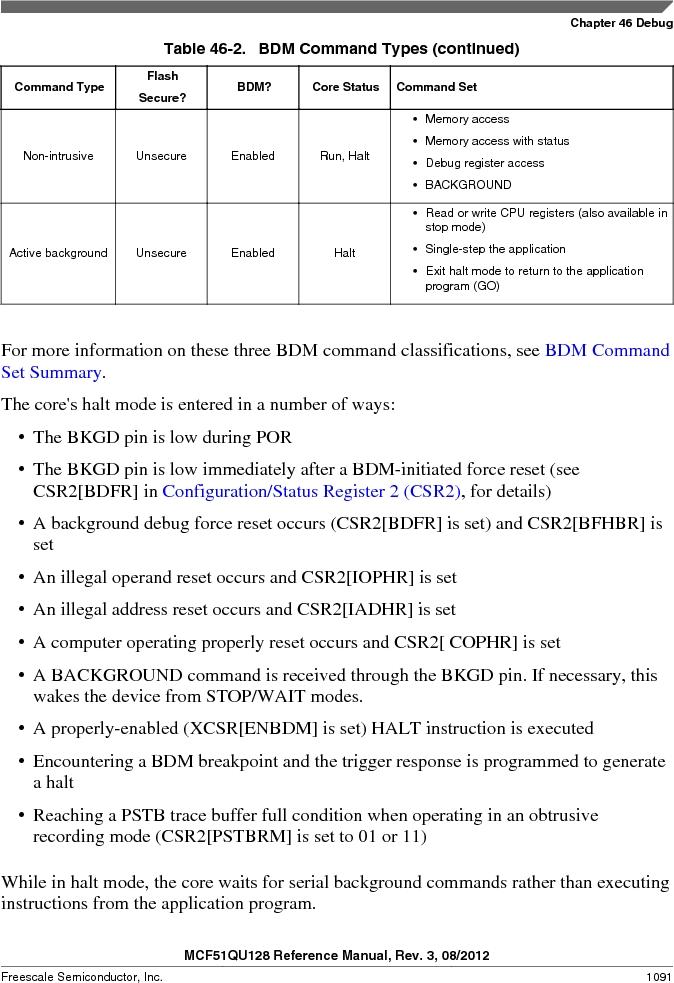 MCF51QU32VHS ,Freescale Semiconductor厂商,IC MCU 32BIT 32K FLASH 44LGA, MCF51QU32VHS datasheet预览  第1091页
