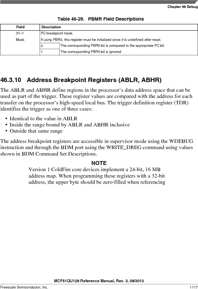 MCF51QU32VHS ,Freescale Semiconductor厂商,IC MCU 32BIT 32K FLASH 44LGA, MCF51QU32VHS datasheet预览  第1117页