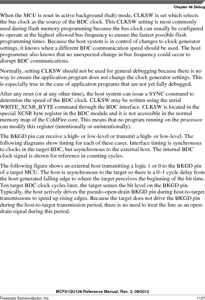 MCF51QU32VHS ,Freescale Semiconductor厂商,IC MCU 32BIT 32K FLASH 44LGA, MCF51QU32VHS datasheet预览  第1127页