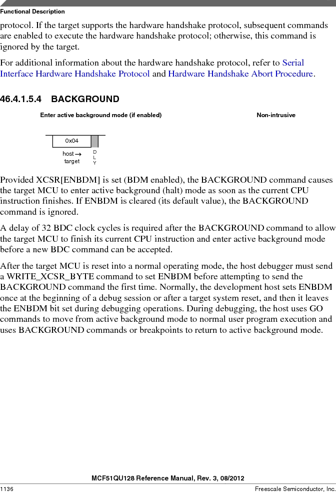 MCF51QU32VHS ,Freescale Semiconductor厂商,IC MCU 32BIT 32K FLASH 44LGA, MCF51QU32VHS datasheet预览  第1136页