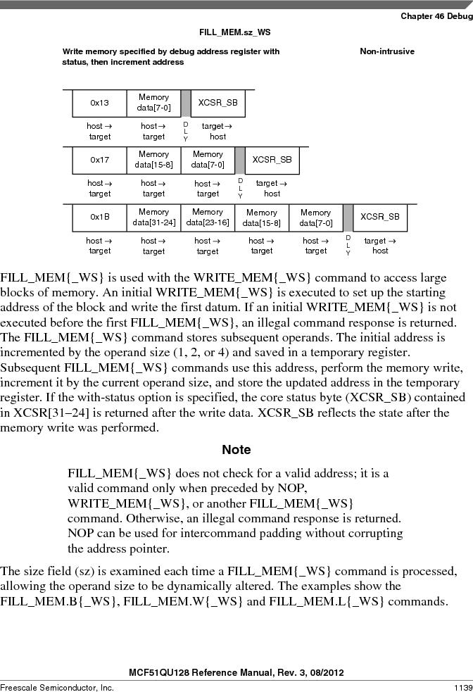 MCF51QU32VHS ,Freescale Semiconductor厂商,IC MCU 32BIT 32K FLASH 44LGA, MCF51QU32VHS datasheet预览  第1139页