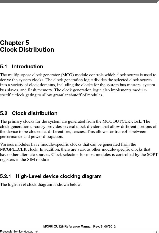 MCF51QU32VHS ,Freescale Semiconductor厂商,IC MCU 32BIT 32K FLASH 44LGA, MCF51QU32VHS datasheet预览  第131页