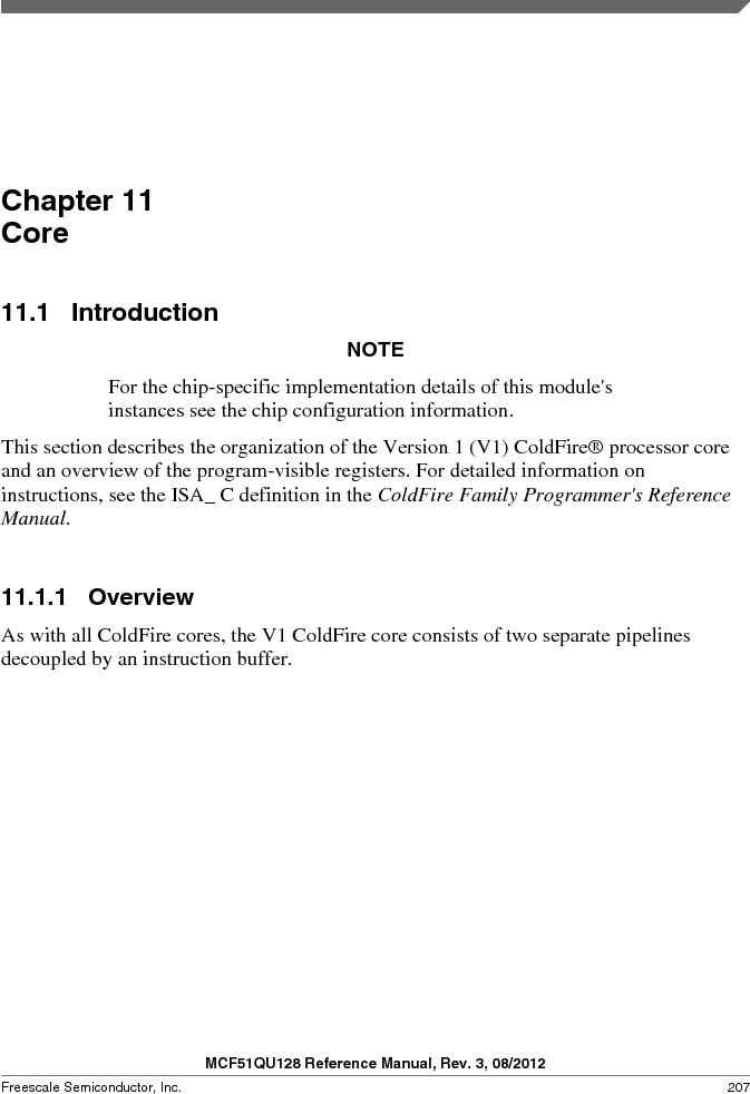 MCF51QU32VHS ,Freescale Semiconductor厂商,IC MCU 32BIT 32K FLASH 44LGA, MCF51QU32VHS datasheet预览  第207页