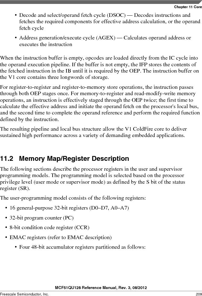 MCF51QU32VHS ,Freescale Semiconductor厂商,IC MCU 32BIT 32K FLASH 44LGA, MCF51QU32VHS datasheet预览  第209页