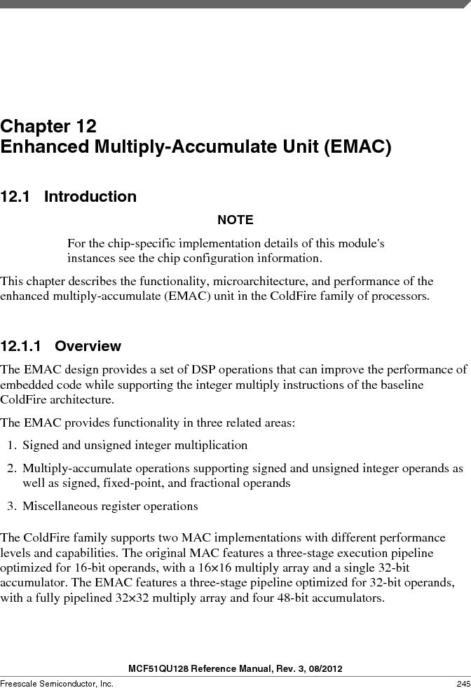 MCF51QU32VHS ,Freescale Semiconductor厂商,IC MCU 32BIT 32K FLASH 44LGA, MCF51QU32VHS datasheet预览  第245页
