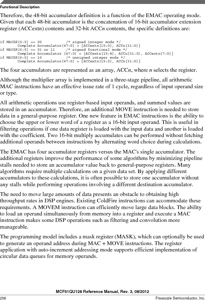 MCF51QU32VHS ,Freescale Semiconductor厂商,IC MCU 32BIT 32K FLASH 44LGA, MCF51QU32VHS datasheet预览  第256页