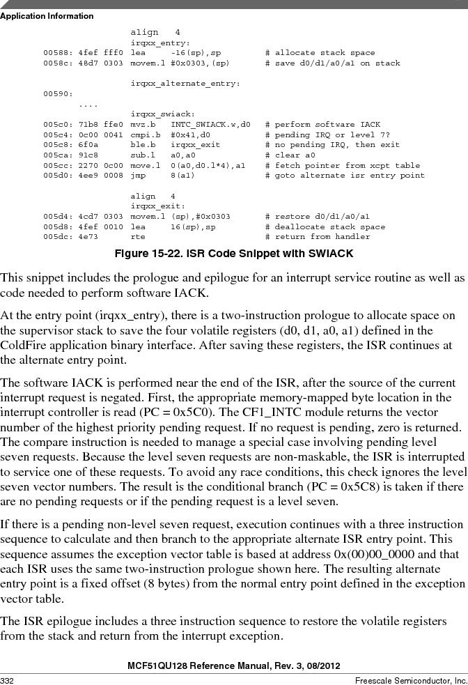 MCF51QU32VHS ,Freescale Semiconductor厂商,IC MCU 32BIT 32K FLASH 44LGA, MCF51QU32VHS datasheet预览  第332页