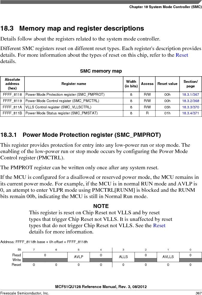 MCF51QU32VHS ,Freescale Semiconductor厂商,IC MCU 32BIT 32K FLASH 44LGA, MCF51QU32VHS datasheet预览  第367页
