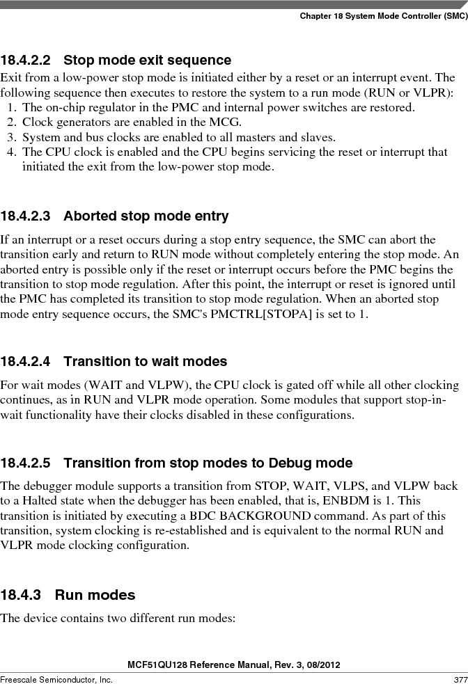 MCF51QU32VHS ,Freescale Semiconductor厂商,IC MCU 32BIT 32K FLASH 44LGA, MCF51QU32VHS datasheet预览  第377页