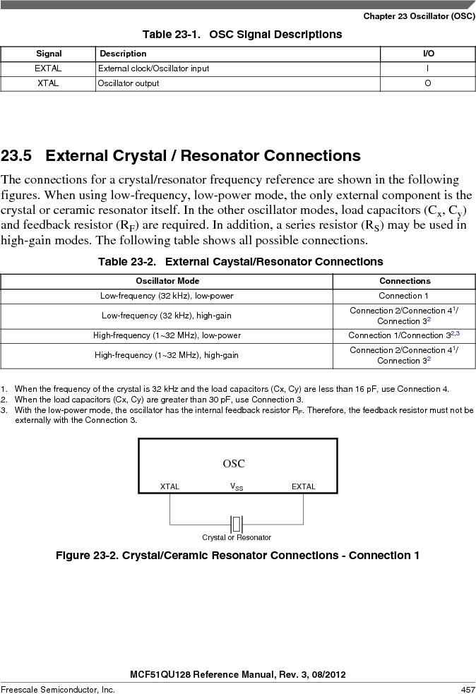 MCF51QU32VHS ,Freescale Semiconductor厂商,IC MCU 32BIT 32K FLASH 44LGA, MCF51QU32VHS datasheet预览  第457页