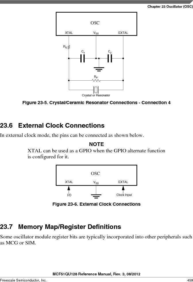 MCF51QU32VHS ,Freescale Semiconductor厂商,IC MCU 32BIT 32K FLASH 44LGA, MCF51QU32VHS datasheet预览  第459页