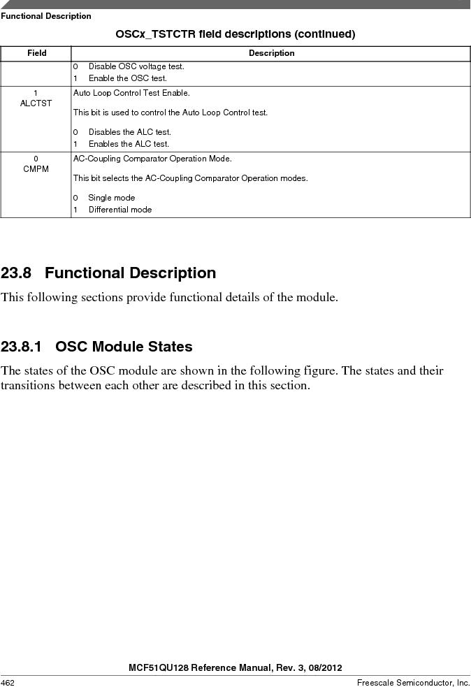 MCF51QU32VHS ,Freescale Semiconductor厂商,IC MCU 32BIT 32K FLASH 44LGA, MCF51QU32VHS datasheet预览  第462页