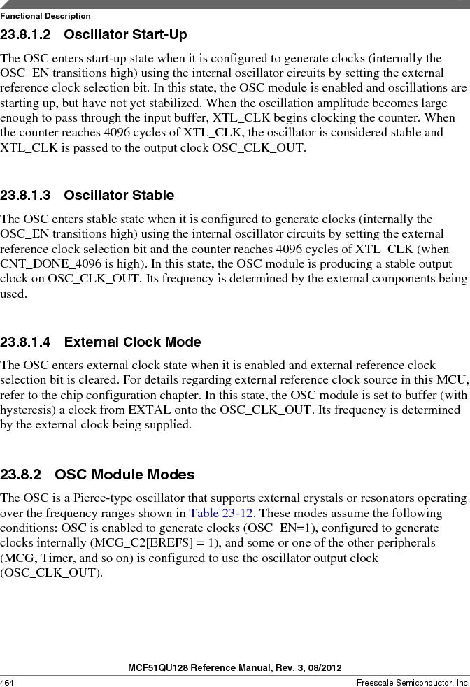 MCF51QU32VHS ,Freescale Semiconductor厂商,IC MCU 32BIT 32K FLASH 44LGA, MCF51QU32VHS datasheet预览  第464页
