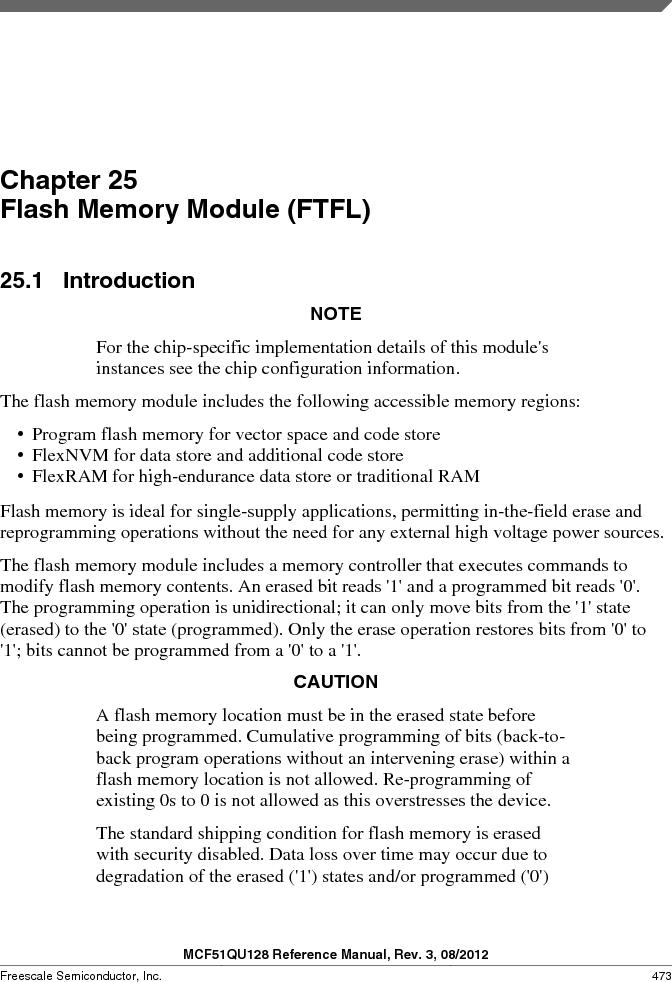 MCF51QU32VHS ,Freescale Semiconductor厂商,IC MCU 32BIT 32K FLASH 44LGA, MCF51QU32VHS datasheet预览  第473页