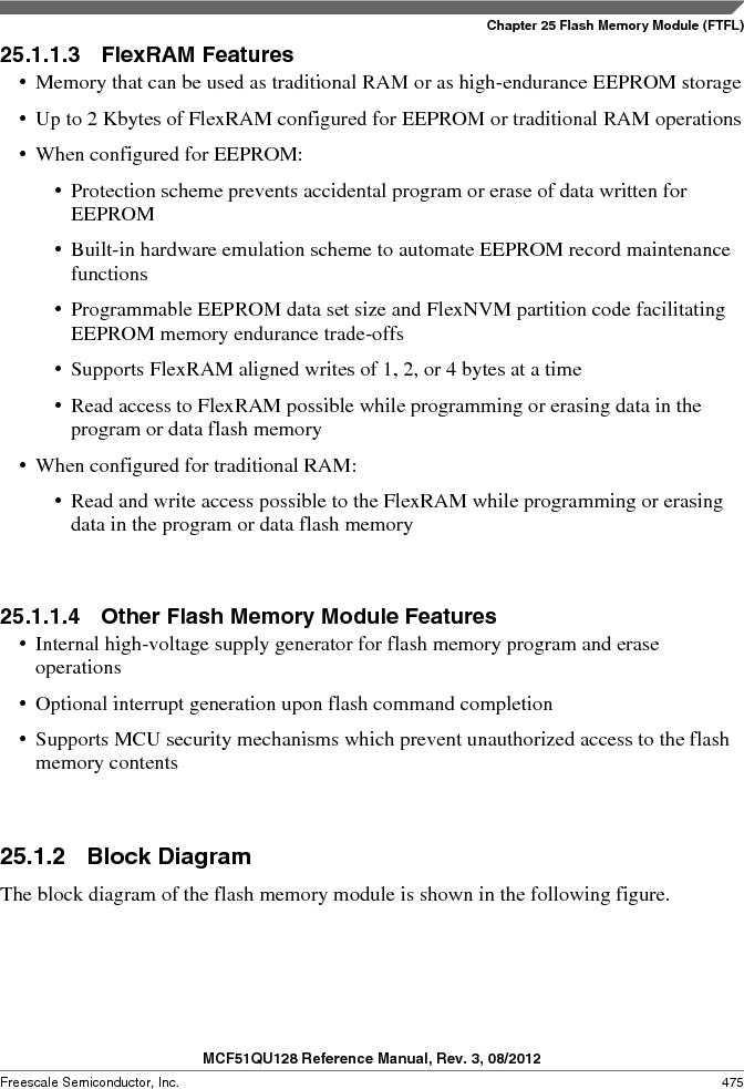 MCF51QU32VHS ,Freescale Semiconductor厂商,IC MCU 32BIT 32K FLASH 44LGA, MCF51QU32VHS datasheet预览  第475页