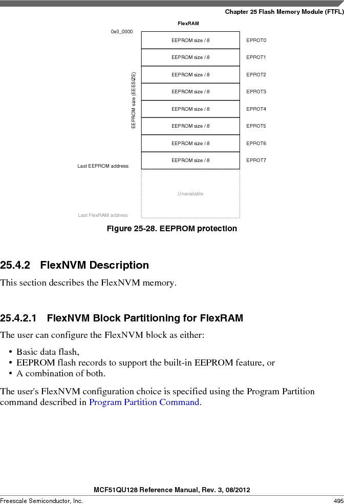 MCF51QU32VHS ,Freescale Semiconductor厂商,IC MCU 32BIT 32K FLASH 44LGA, MCF51QU32VHS datasheet预览  第495页
