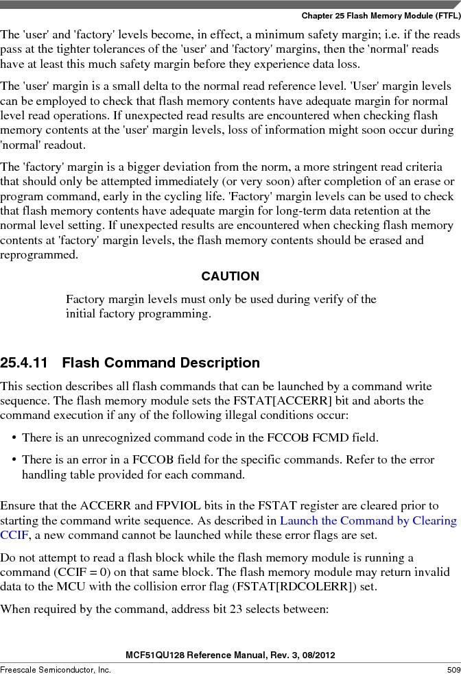 MCF51QU32VHS ,Freescale Semiconductor厂商,IC MCU 32BIT 32K FLASH 44LGA, MCF51QU32VHS datasheet预览  第509页