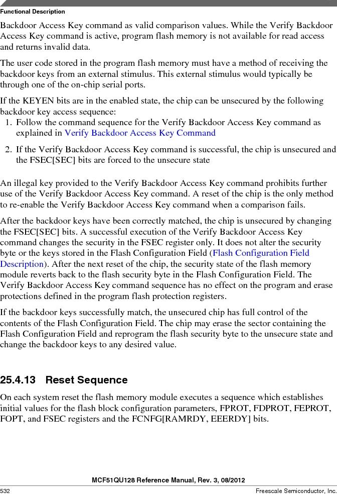 MCF51QU32VHS ,Freescale Semiconductor厂商,IC MCU 32BIT 32K FLASH 44LGA, MCF51QU32VHS datasheet预览  第532页