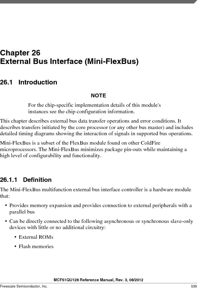 MCF51QU32VHS ,Freescale Semiconductor厂商,IC MCU 32BIT 32K FLASH 44LGA, MCF51QU32VHS datasheet预览  第535页