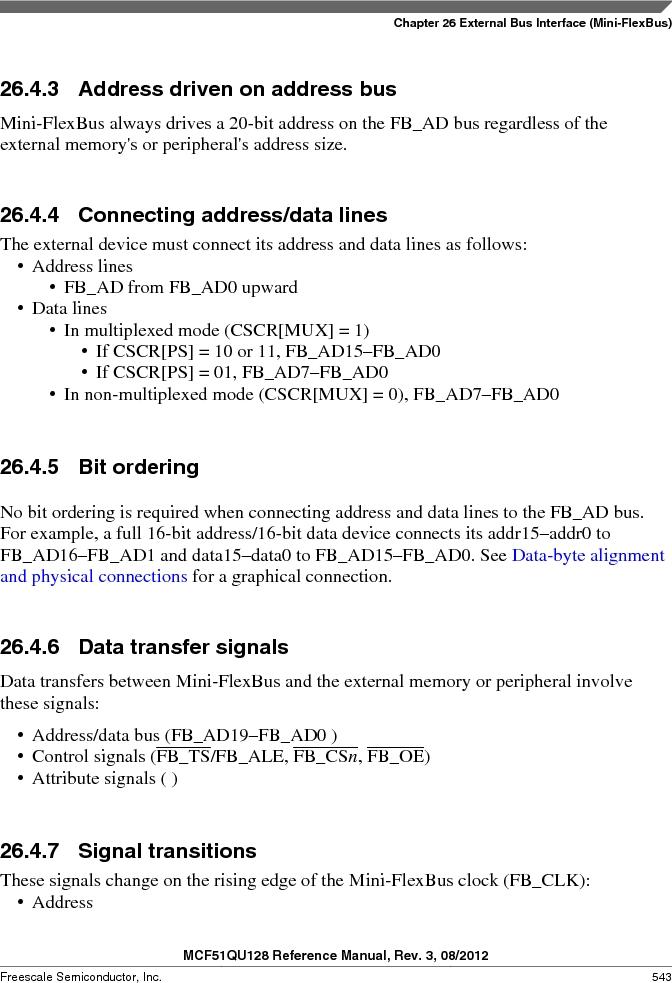 MCF51QU32VHS ,Freescale Semiconductor厂商,IC MCU 32BIT 32K FLASH 44LGA, MCF51QU32VHS datasheet预览  第543页