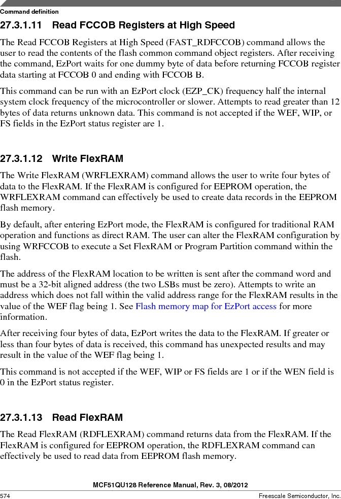 MCF51QU32VHS ,Freescale Semiconductor厂商,IC MCU 32BIT 32K FLASH 44LGA, MCF51QU32VHS datasheet预览  第574页