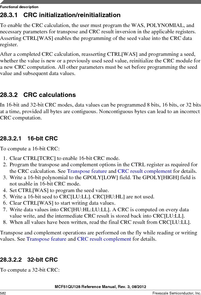 MCF51QU32VHS ,Freescale Semiconductor厂商,IC MCU 32BIT 32K FLASH 44LGA, MCF51QU32VHS datasheet预览  第582页