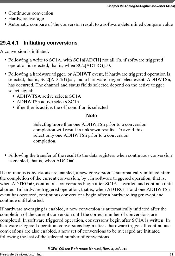 MCF51QU32VHS ,Freescale Semiconductor厂商,IC MCU 32BIT 32K FLASH 44LGA, MCF51QU32VHS datasheet预览  第611页