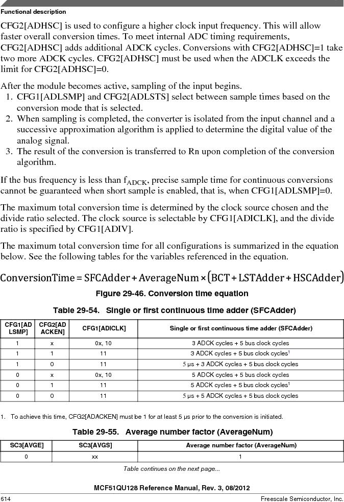 MCF51QU32VHS ,Freescale Semiconductor厂商,IC MCU 32BIT 32K FLASH 44LGA, MCF51QU32VHS datasheet预览  第614页