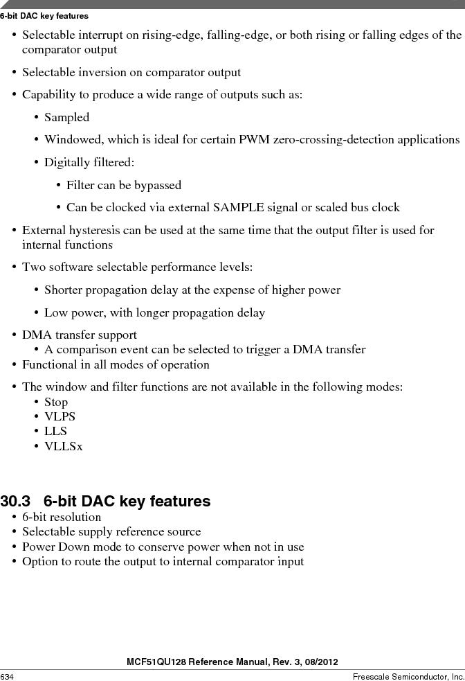 MCF51QU32VHS ,Freescale Semiconductor厂商,IC MCU 32BIT 32K FLASH 44LGA, MCF51QU32VHS datasheet预览  第634页