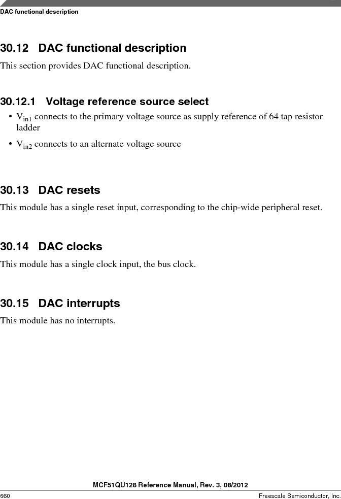 MCF51QU32VHS ,Freescale Semiconductor厂商,IC MCU 32BIT 32K FLASH 44LGA, MCF51QU32VHS datasheet预览  第660页
