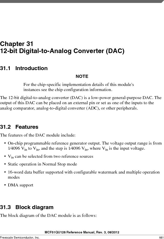 MCF51QU32VHS ,Freescale Semiconductor厂商,IC MCU 32BIT 32K FLASH 44LGA, MCF51QU32VHS datasheet预览  第661页