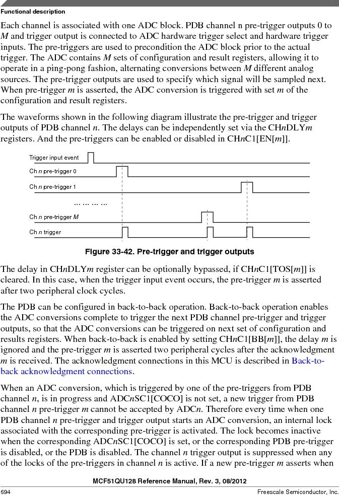 MCF51QU32VHS ,Freescale Semiconductor厂商,IC MCU 32BIT 32K FLASH 44LGA, MCF51QU32VHS datasheet预览  第694页