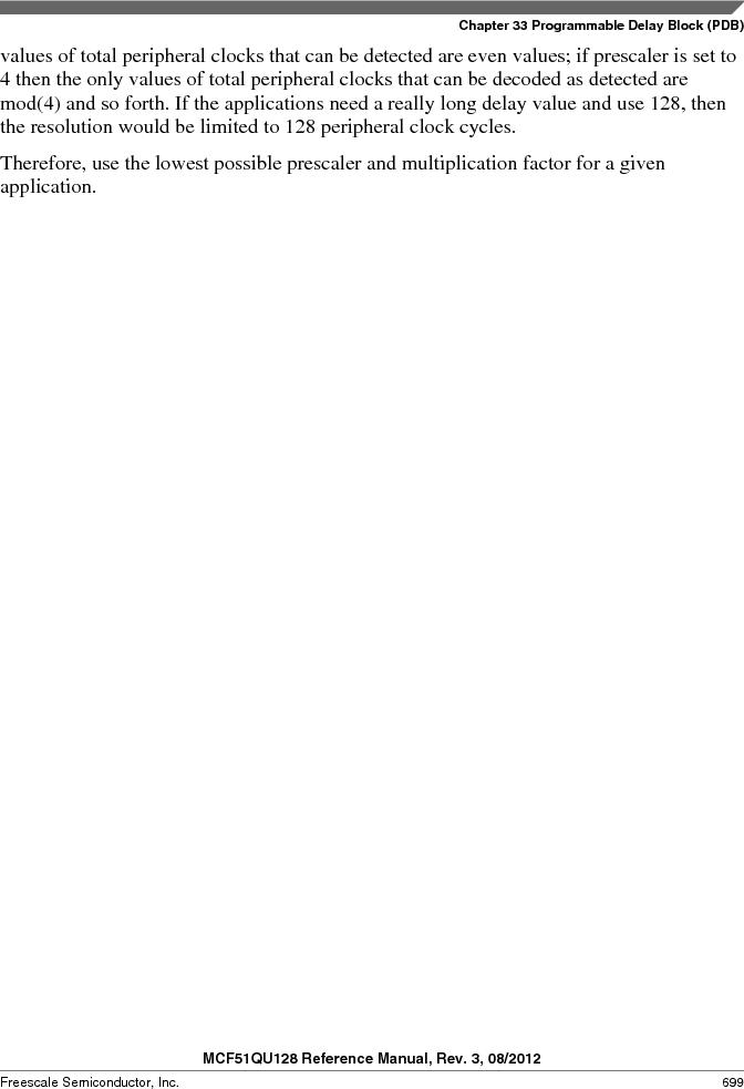 MCF51QU32VHS ,Freescale Semiconductor厂商,IC MCU 32BIT 32K FLASH 44LGA, MCF51QU32VHS datasheet预览  第699页